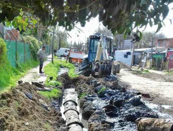 Tigre amplia los sistemas pluviales en más localidades