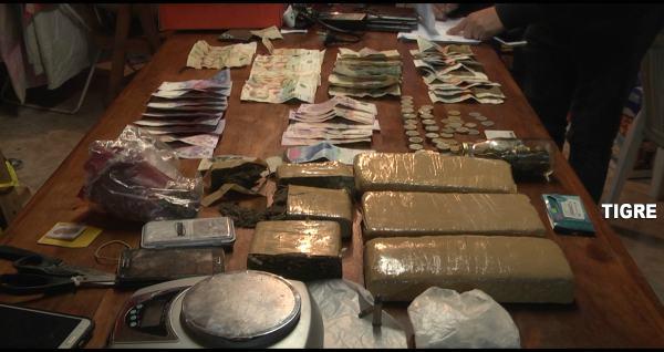 Detuvieron a los miembros de una red de venta de droga en Tigre