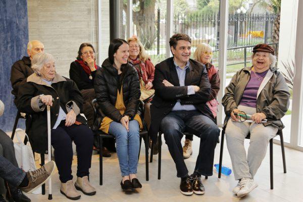 Jorge Macri y Soledad Martínez presentaron los fines de obra del SUM y la plaza integradora del Instituto Bignone