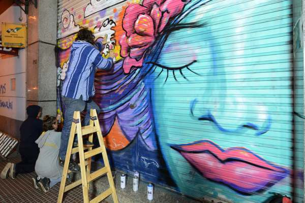 Los artistas urbanos de