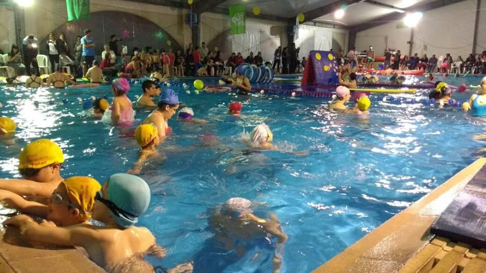 Se realizó en Tigre el primer encuentro de natación para chicos de preescolar