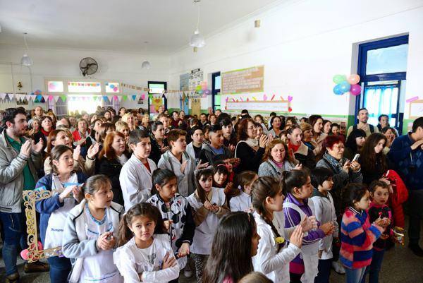 La Escuela N° 8 de San Fernando festejó su 130 aniversario