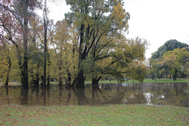 San Isidro destacó el funcionamiento de su  sistema hidráulico ante las lluvias