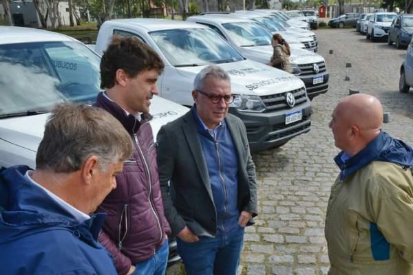 Tigre presentó 17 nuevos móviles para todas sus delegaciones