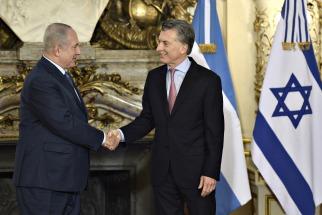 Macri le entregó a Netanyahu archivos sobre el holocausto