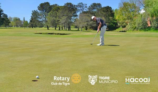 Golf solidario en la club de campo Hacoaj: Copa Challenger Ciudad de Tigre 2017