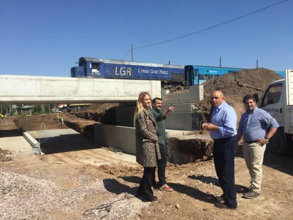 El Diputado César Torres y referentes de Cambiemos recorrieron obras en Tigre