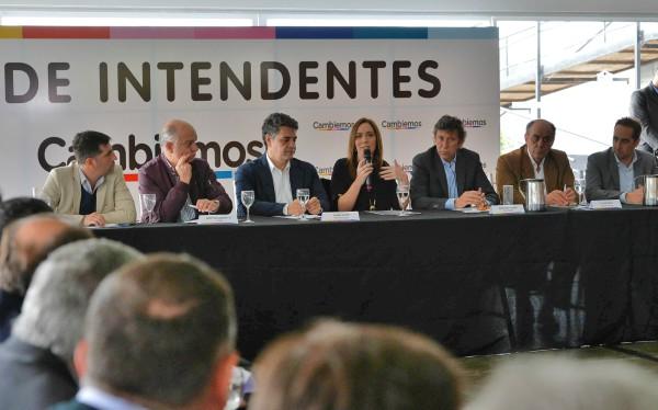 Vidal encabezó reunión con intendentes de Cambiemos en San Isidro