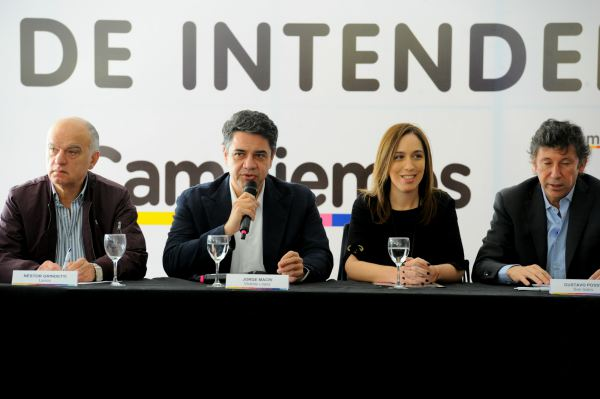 El Intendente de Vicente López, Jorge Macri, estuvo presente en el Foro de Intendentes de Cambiemos en San Isidro, encabezado por la Gobernadora María Eugenia Vidal.