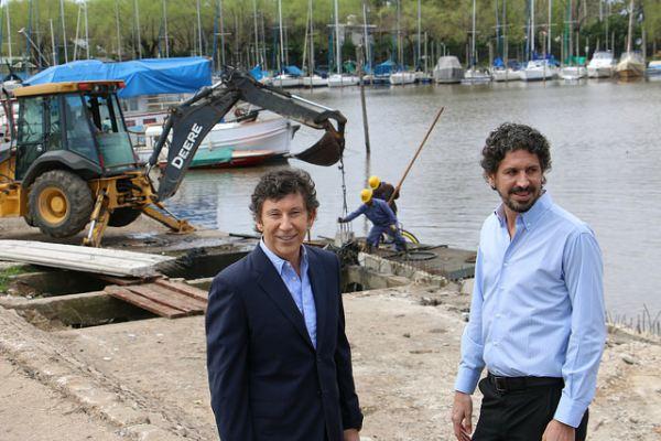 El intendente de San Isidro, Gustavo Posse, supervisó las obras que convertirán al Puerto de San Isidro en un Parque Público para que disfruten todos los vecinos.