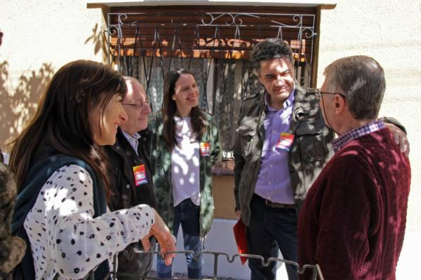 Vidal dialogó con vecinos en el Parque Luro de Mar del Plata