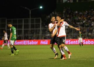 River superó a San Martín en San Juan y es líder de la Superliga junto a Boca