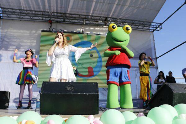 Ante más de 20 mil personas, Adriana brilló en Pilar