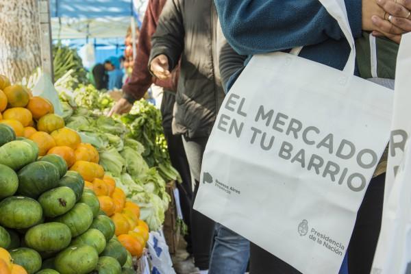El Mercado en tu Barrio en Vicente López