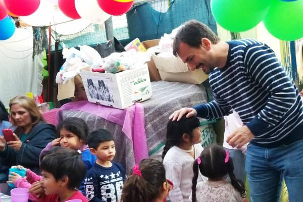 el senador Sebastián Galmarini se refirió a la difícil realidad que viven miles de familias por la situación económica del país