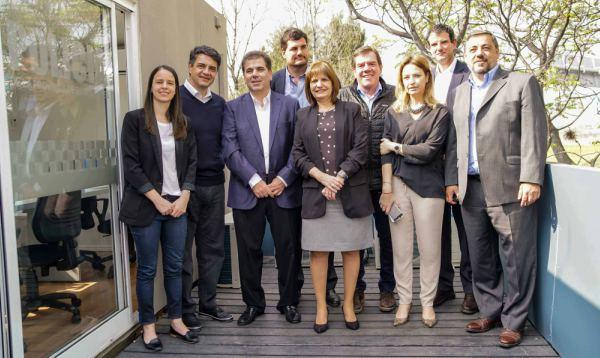 La ministra Bullrich y Jorge Macri inauguraron un nuevo destacamento policial en Vicente López