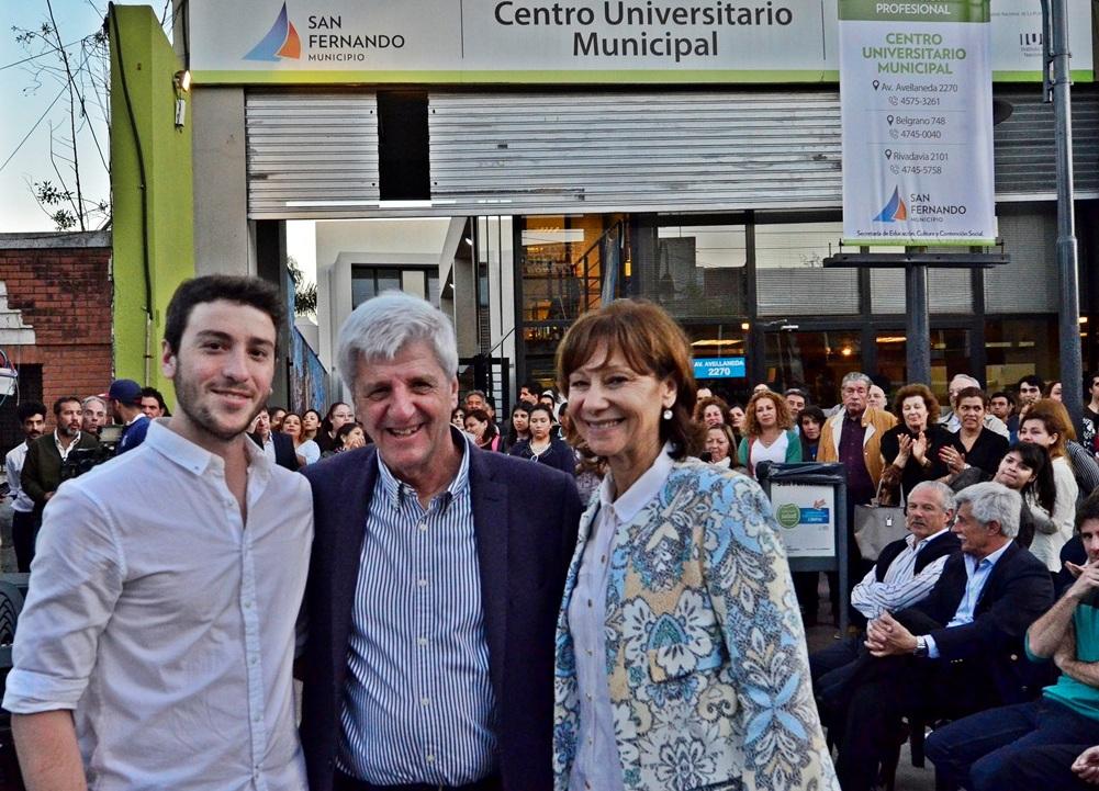 Andreotti celebró los 10 años del Centro Universitario con espectáculos y un nuevo mural