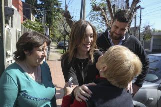 Peña y Vidal recorrieron territorio bonaerense, en una nueva jornada nacional de timbreo de Cambiemos