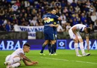 Boca Juniors fue demasiado para Vélez Sarsfield y lo goleó en Liniers