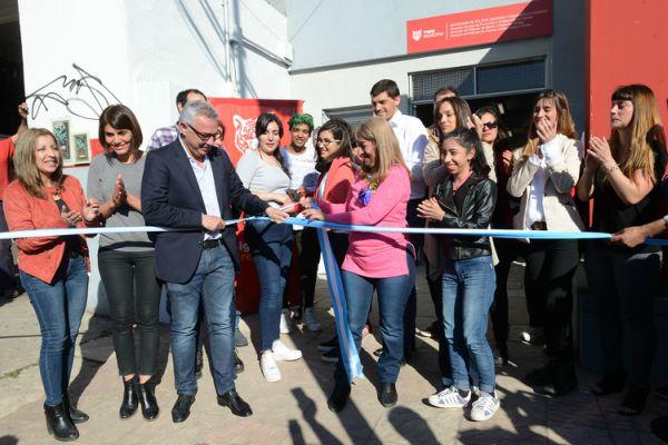 Tigre inauguró su nuevo edificio de Fortalecimiento Familiar en General Pacheco