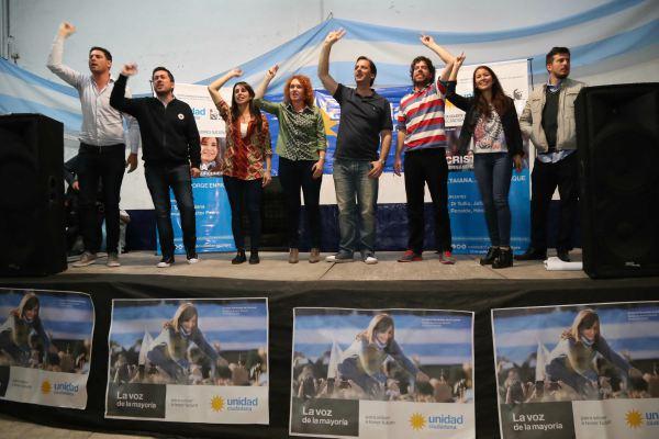 Nardini y Sujarchuk acompañaron el lanzamiento de Unidad Ciudadana en Tigre