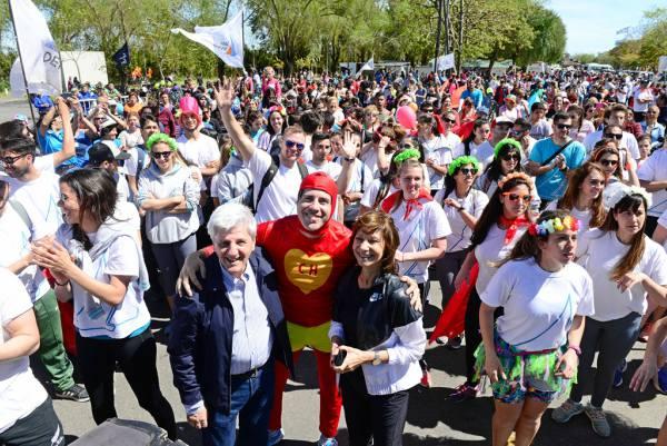 """Más de 8 mil vecinos disfrutaron la """"Bicicleteada Familiar"""" de San Fernando"""