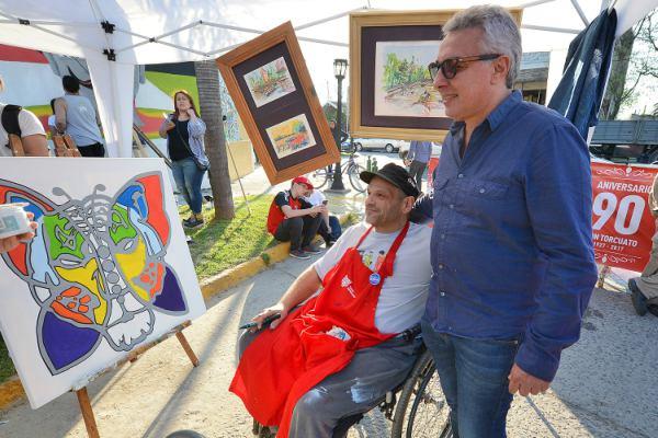 Con eje en el arte y la inclusión, Don Torcuato vivió su festival