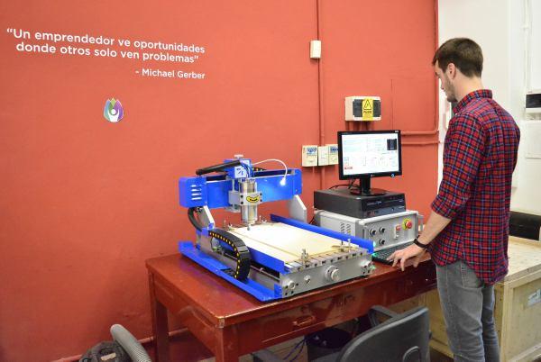 El Club de Emprendedores de Vicente López presentó el Fab Lab