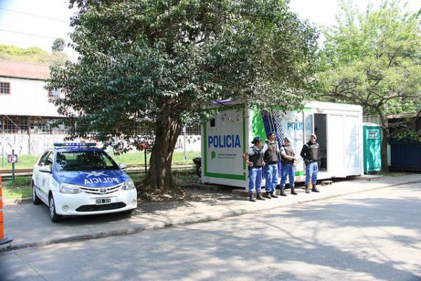 San Isidro sumó tres destacamentos policiales