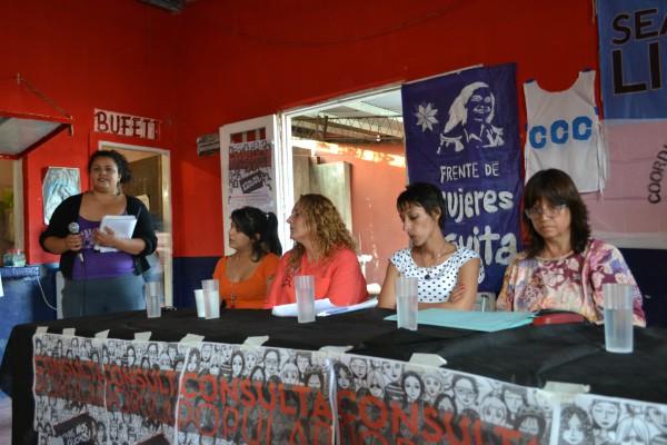 Se presentó en Tigre la Consulta Popular ¡Vivas nos queremos!