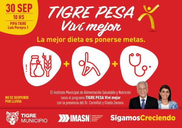 """Se lanza el programa """"Tigre Pesa"""""""