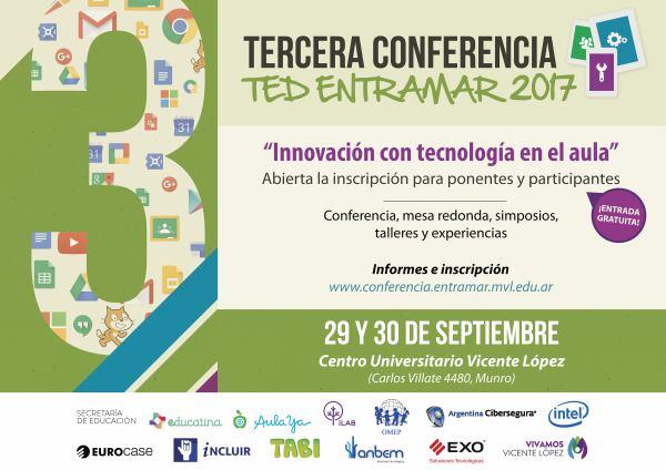Tercera  conferencia TED entramar en Vicente López