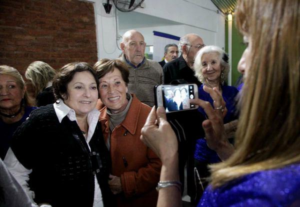 Graciela Ocaña mantuvo un encuentro con adultos mayores en San Fernando