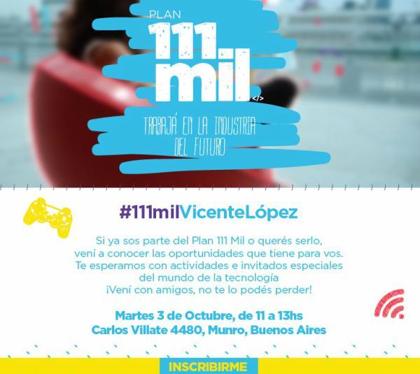 Presentación de 111 Mil Programadores en Vicente López