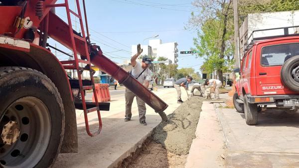 Continúan las obras de desagües pluviales en Tigre centro