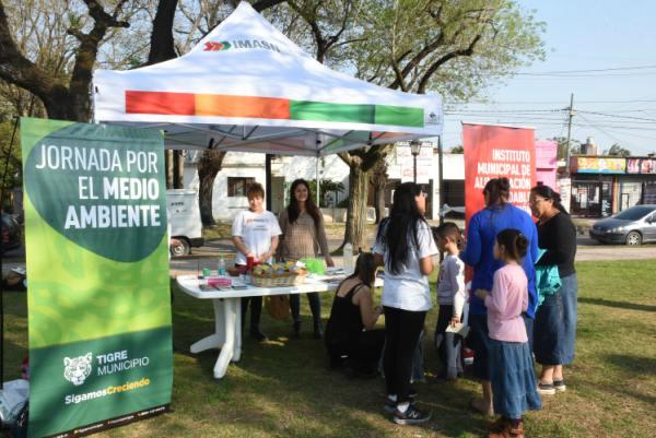 El Instituto Municipal de Alimentación Saludable y Nutrición participó de la Semana de la Conciencia Medioambiental