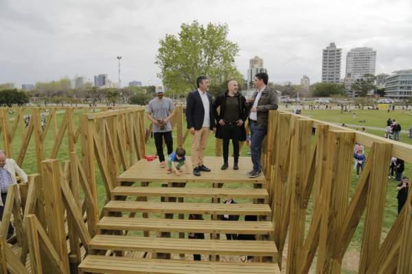 Jorge Macri presentó el Proyecto Nido en el Paseo de la Costa