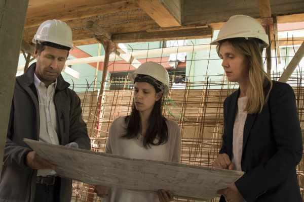 Soledad Martínez y Gladys González recorrieron el Jardín de Infantes San Pablo de la Cruz