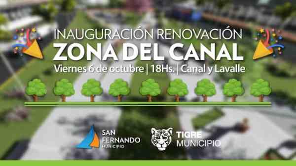 Este viernes se inaugura la Plaza del Canal