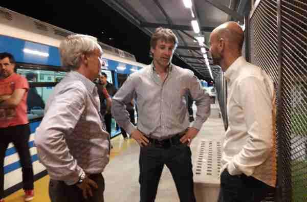 Dietrich y Cernadas visitaron la renovada Estación de Tigre