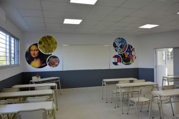 """Tigre inauguró  la escuela primaria Nº21 """"Amado Bonpland"""" en Rincón de Milberg"""