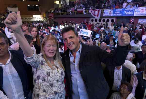 Massa y Stolbizer encabezaron un acto en San Martín