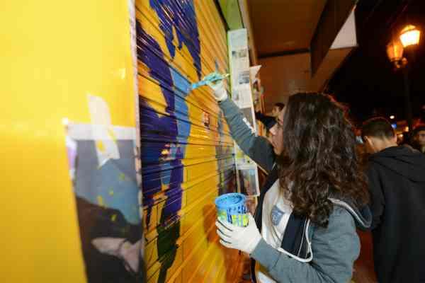 """El arte urbano de """"Pintó Tigre"""" culminó su primer ciclo en Rincón de Milberg"""
