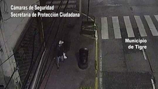 Vandalizaba el espacio público con aerosoles y fue detenido en Tigre