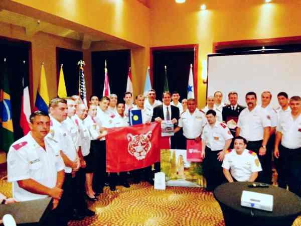Los bomberos de Tigre se capacitaron en Estados Unidos