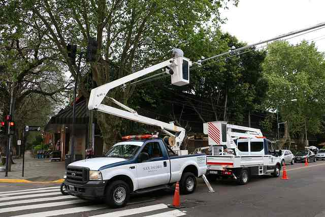 El municipio de San Isidro instaló cámaras lectoras de patentes