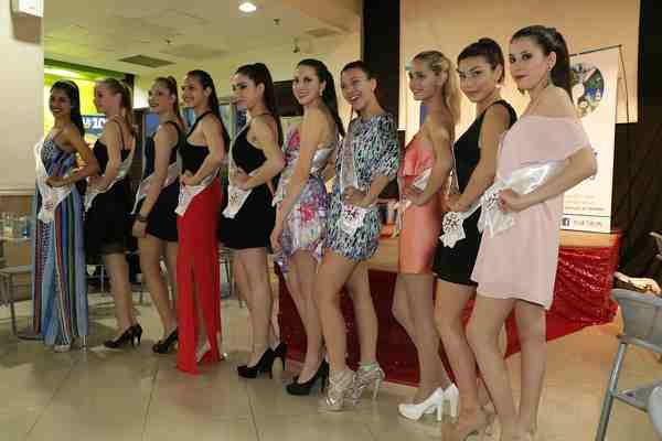 Presentaron a las postulantes a Reina de las Fiestas Patronales de Pilar