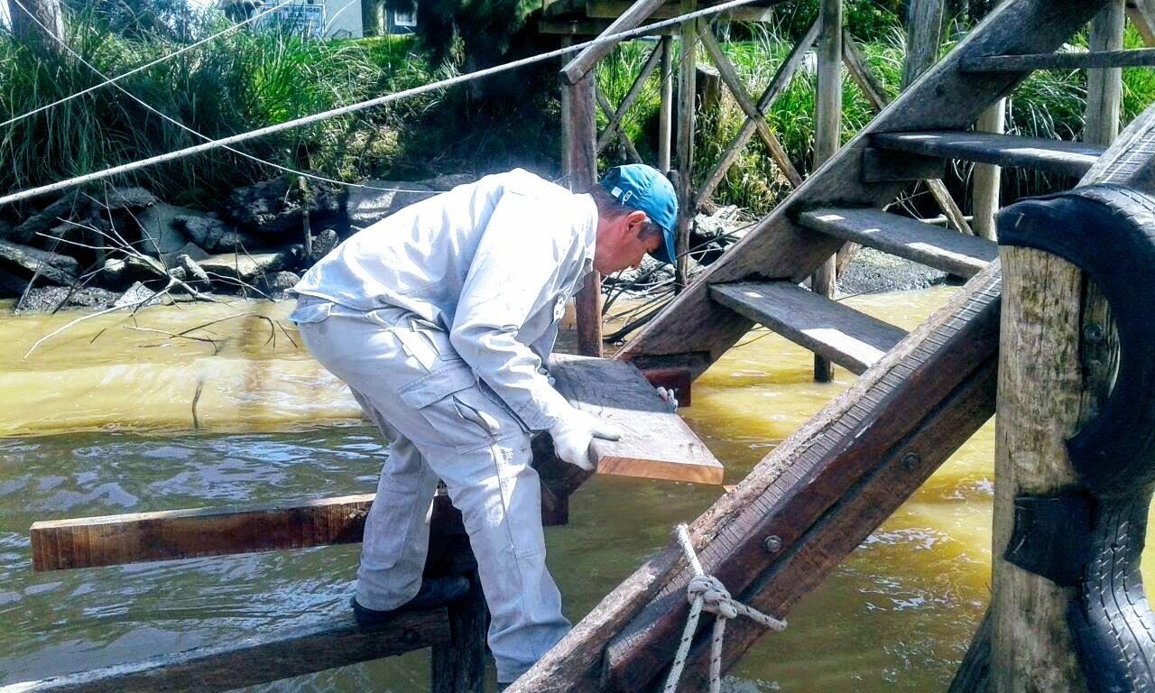 Tigre desarrolla diversas obras de mantenimiento en el Delta