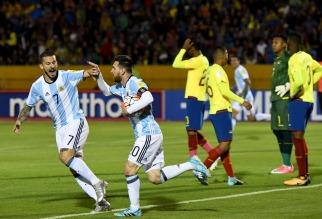 Messi metió a la Argentina en Rusia 2018: triplete en la altura de Quito para dar vuelta a Ecuador