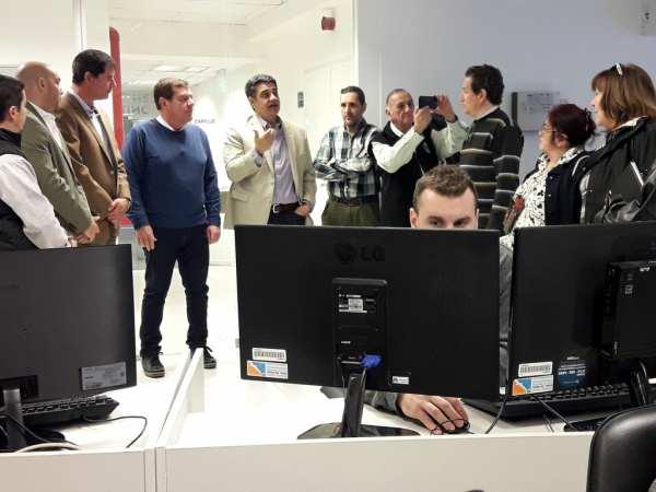Jrge Macri y Guillermo Montenegro visitaron el Centro de Monitoreo de Vicente López
